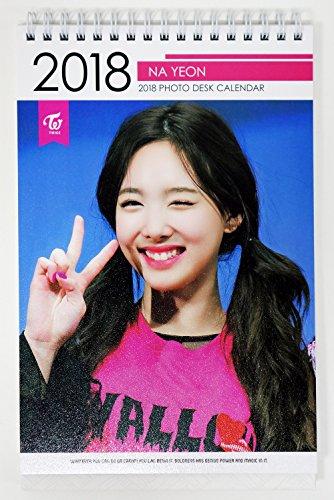 トワイス - 2018-2019 PHOTO DESK CALENDAR 卓上カレンダー [韓国盤]