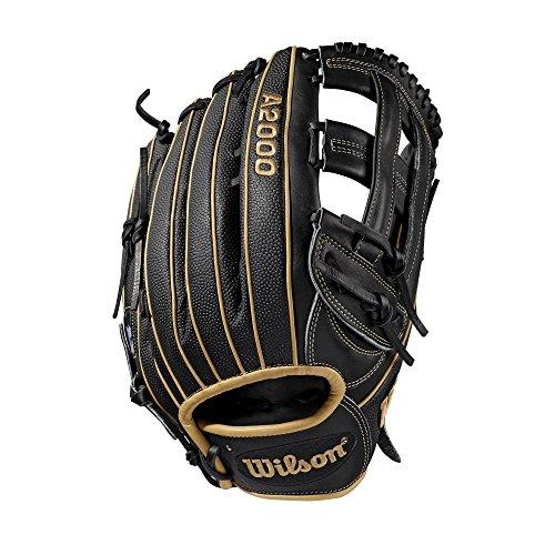 Wilson A2000 12.75-Inch SuperSkin Baseball Glove, Blonde/Black, Left (Right Hand Throw)