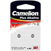 Camelion Premium Alkaline Ag 1 / Lr621 / 364 / 164 2 Batteries