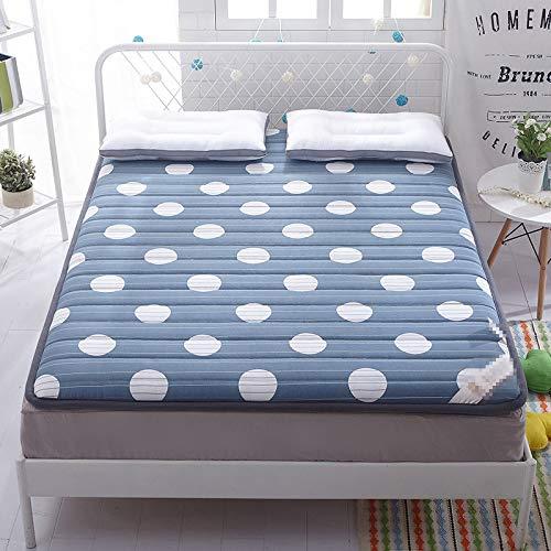 Volledig verdikt zacht matras, 5-6 cm, rondom, eenpersoons multifunctionele non-slip matras(4 stijlen om uit te kiezen) 120 * 200cm 03