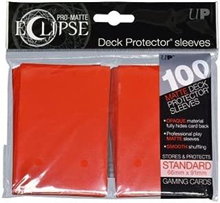 Ultra Pro UPR85604 Eclipse Standard Matte Card Sleeves