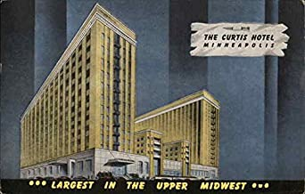 The Curtis Hotel, Minneapolis Minneapolis, Minnesota Original Vintage Postcard