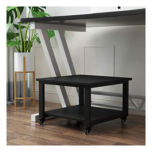 Soporte para Impresora Fácil de mover la impresora Soporte de Super portante del soporte del escritorio de la impresora debajo del escritorio Impresora De pie, con 4 ruedas for impresora 3D Mini Gabin