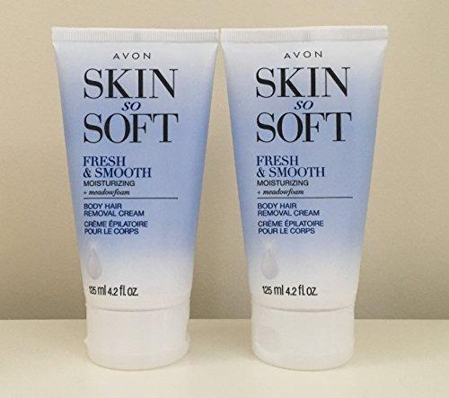 Avon Skin So Soft Fresh and Smooth Moisturizing Hair Removal Cream