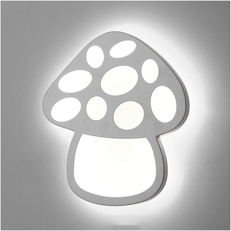 Wandleuchten LED Wandleuchte kinder Schlafzimmer Cartoon Lampe Schlafzimmer Wohnzimmer Pilz Aluminium Wandleuchte Romantische Und Schne PVC [Energieklasse A ++] (Farbe   B-20cm)