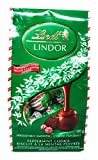 Lindt Lindor Peppermint Cookie Milk Chocolate Balls 150 Gram Bag