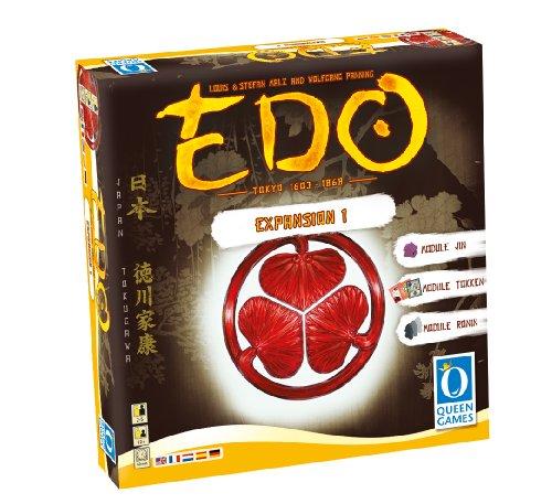 Queen Games 61024 - Edo Expansion 1, Brettspiel