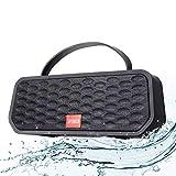 Altavoz Bluetooth Portátiles Inalámbrico Estereo con Audio HD Altavoz Bluetooth 5.0 de Doble Controlador Integrado, 30H de Reproducción, Altavoz Bluetooth Ducha Impermeable IPX6,Manos Libres/FM/TF/USB