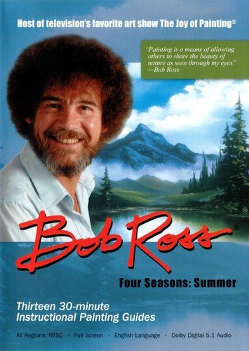 Bob Ross The Joy of Painting: Summer Collection 3 DVD Set