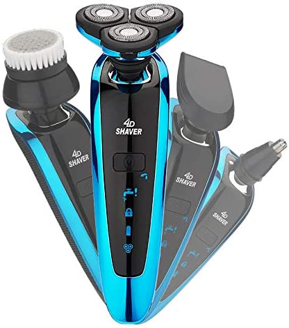 mart Men's Electric Shaver Limited time trial price Wet and IPX6 Rechargeable Dry Waterproof