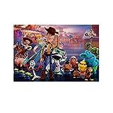 DRAGON VINES Poster Toy Story Spring Dog Kunstdruck, 20 x