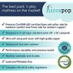 hiccapop-Pack-and-Play-Mattress-Pad-Dual-Sided-wFirm-Side-for-Babies-Soft-Memory-Foam-Side-for-Toddlers-Memory-Foam-Play-Yard-Mattress-Pad-Playard-Mattress-Fits-Most-Pack-N-Play-Playpens
