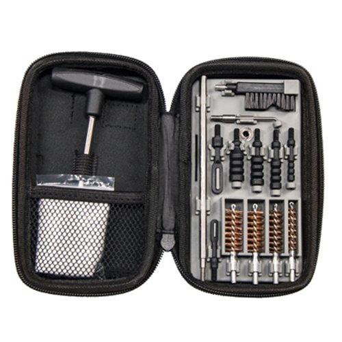 Tipton - Kit de limpieza de pistola compacta para pistolas de calibre .22 9 mm .357 .38 .40 10 mm y .45