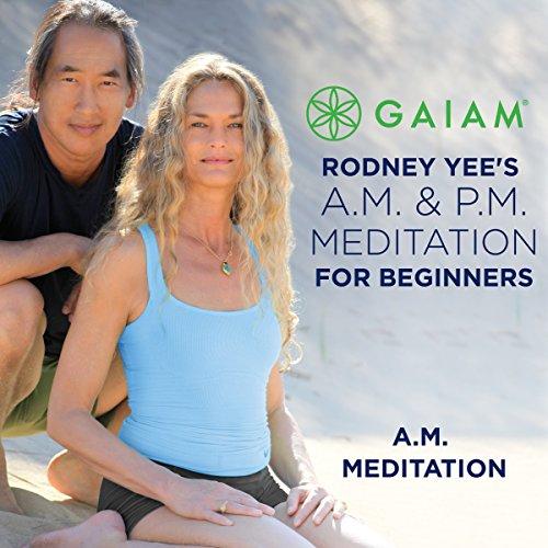 AM Meditation for Beginners audiobook cover art