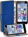 moex Klapphülle kompatibel mit Nokia Lumia 630/635 Hülle