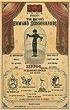 Unique Artwork Edward Scissorhands Movie Poster Johnny Depp Winona Ryder, Freakshow 11' x 17'