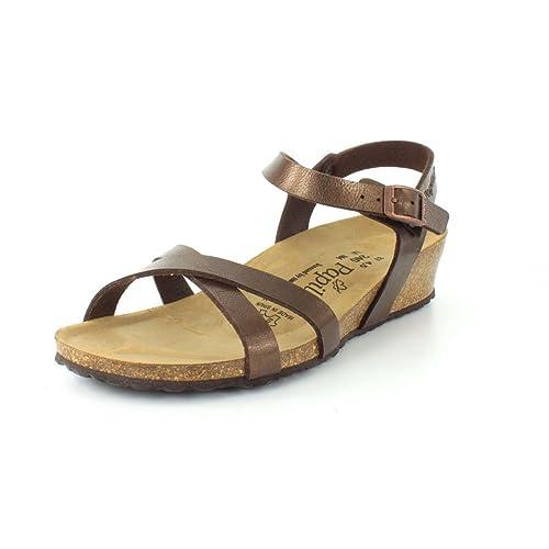 afd3c3d4f082 Birkenstock Alyssa Birko-Flor Licorice Sandals - Toffee - Womens - 39