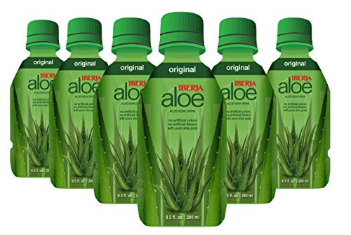 Iberia Aloe Vera Juice Drink, Original, 9.5 Fl Oz (Pack of...