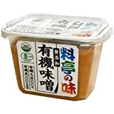 マルコメ 料亭の味 無添加 有機味噌(375g)