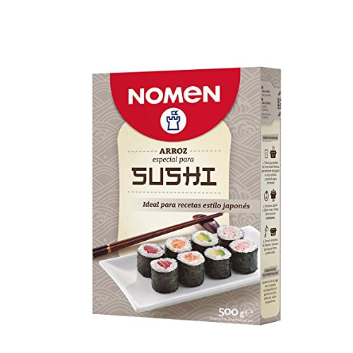 Nomen Arroz Sushi - Paquete de 10 x 500 gr - Total: 5000 gr