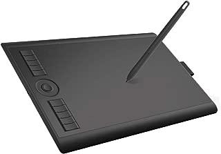 GAOMON 10*6.25インチ8192レベル筆圧電池不要なペン搭載マウスモードを持つお絵描きグラフィックペンタブレット-M10K 2018バージョン