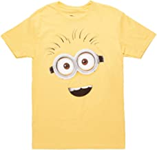 Despicable Me Minions Yellow Face Adult T-Shirt