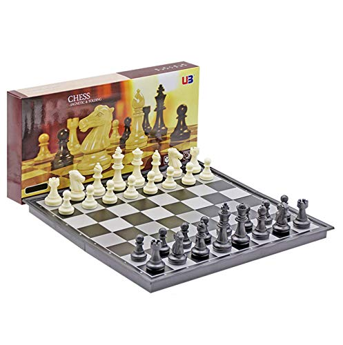 Cxcdxd Juego de ajedrez de Regalo, Juego de ajedrez Juego de ajedrez de Lujo Elegante Juego de ajedrez Tablero de ajedrez Juego de Juego para jóvenes Adultos