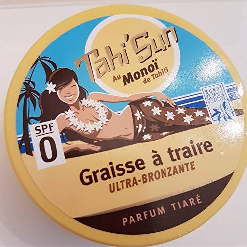 Graisse à Traire Ultra Bronzante SPF 0 Parfum Tiaré Tahi'Sun