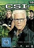 CSI: Crime Scene Investigation - Season 15 [6 DVDs] - Elisabeth Shue