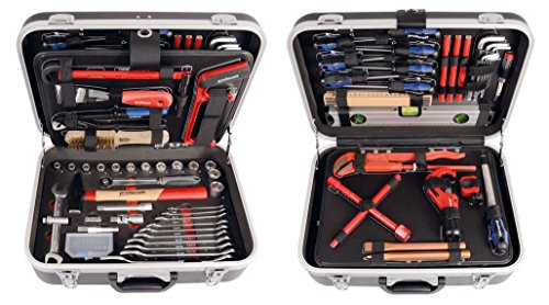 PROJAHN 8685 proficraft Werkzeugkoffer SANITÄR metrisch 6-kant 12,5 / 1/2
