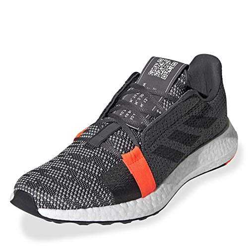 adidas Performance Senseboost Go Laufschuh Herren dunkelgrau/orange, 9 UK - 43 1/3 EU - 10.5 US