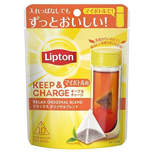 リプトン キープ&チャージ リラックス オリジナルブレンド ティーバッグ 10袋入 ×6袋