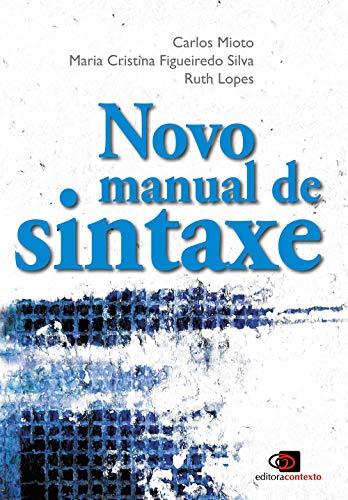 Novo manual de sintaxe