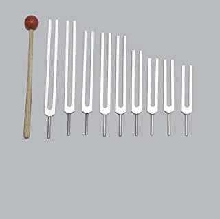 9 Sacred Solfeggio Tuning Forks Bodytuners By Tuningforkshop Including 528 DNA for Healing