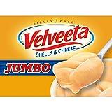 Velveeta Meals Original Jumbo Shells and Cheese Meal Box, 10.1 Ounce