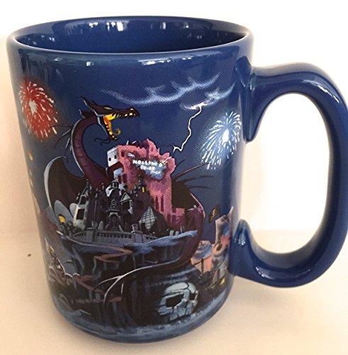 Walt Disney World noche libro de cuentos villanos taza de cerámica nueva