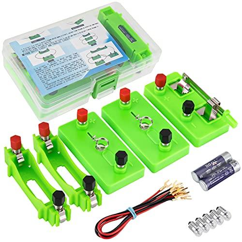 Kit Experimento Ciencia Circuito Eléctrico Seamuing Herramientas Educativas de Bricolaje STEM con...