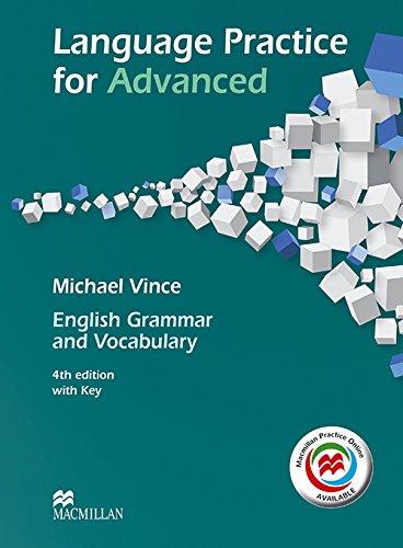 LANG PRACT ADVANCED MPO +Key Pk 4th Ed [Lingua inglese]