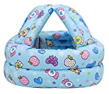 Product Image of the Bellady Infant, Toddler & Baby Child Helmet Headguard Cushion Bonnet,Blue Candy