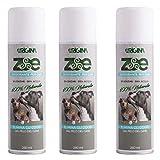 Zoe - ELIMINA ODORI dal Pelo del Cane - 100% Ecologico - Deodorante per Cani (3x250ml)...