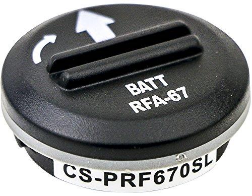 Cameron sino Li-MnO2 6.00V 150mAh / 0.90Wh Battery for Petsafe/SportDog RFA-67 RFA-67D-11, Fits Petsafe PetSafe PetSafe Wireless Fence Receiver Bark Collar PIF-300 PIF-275-19 PRF-3004W PBC19-10765