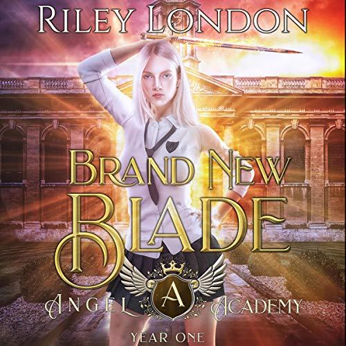 Brand New Blade audiobook cover art