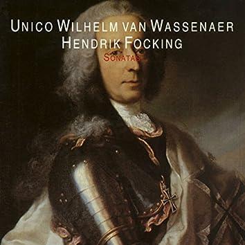 Van Wassenaer: Three Sonatas for Alto Recorder and Continuo & Focking: Three Sonatas for Traverso and Continuo