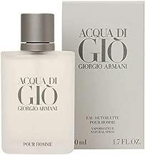 Acqua Di Gio Pour Homme by Giorgio Armani for Men - Eau de Toilette, 50ml