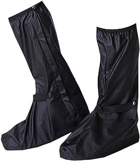 Bull spring Impermeable Cubiertas de Zapatos, Botas de Lluvia Impermeables Botas de Lluvia para Hombres, Equipo de protección para Exteriores de Motocicleta (un par)