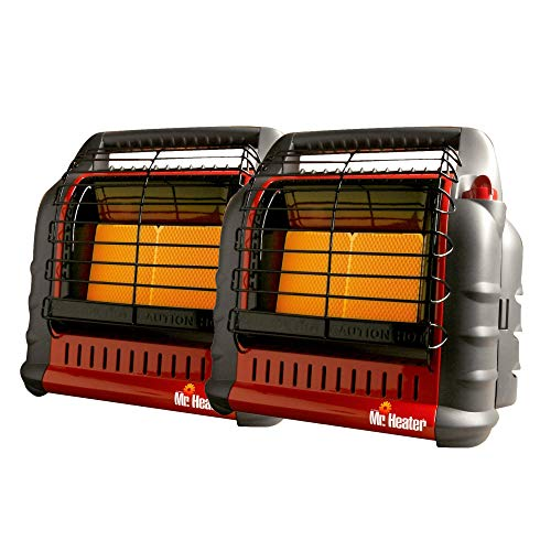 Mr. Heater F274805 Big Buddy Propane Heater Bundle (2-Pack) (2 Items)
