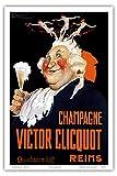 VICTOR Cliquot, Französisch Veuve Cliquot Champagner;,