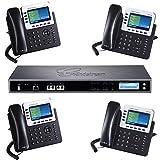 Grandstream Bundle IP PBX UCM6510 and 4 IP Phones GXP2140