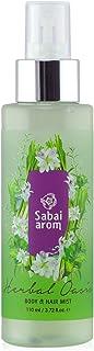 サバイアロム(Sabai-arom) ハーバル オアシス ボディ&ヘアミスト 110mL (レモングラスの香り)【LMG】【010】
