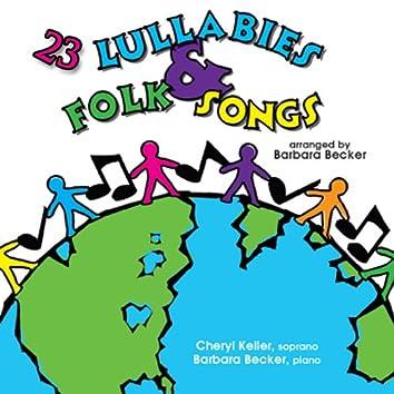 23 Lullabies and Folk Songs